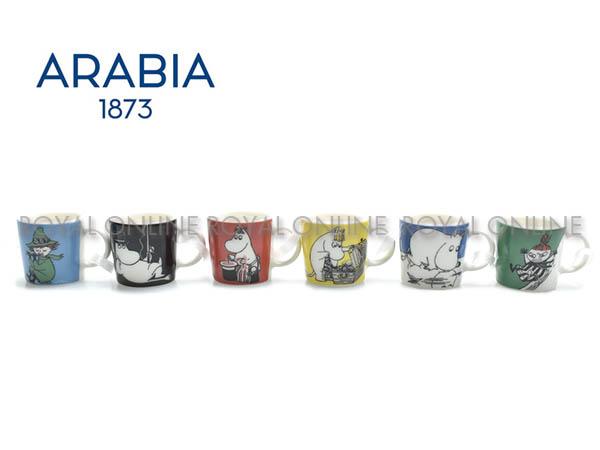 Y) 【アラビア】 ムーミン ミニマグ6ピースセット クラシック1028335 ミニマグ マルチ