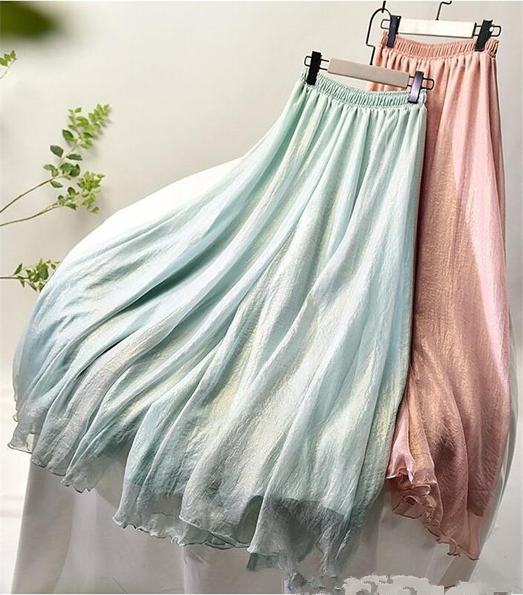 おしゃれの必需品 ファッション 大人気 ワイルド シフォン  ヴィンテージ ワイドレッグパンツ シンプル