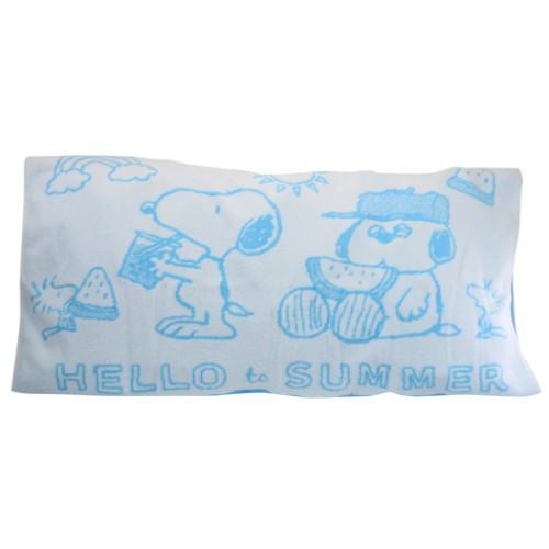 【枕】スヌーピー のびのびピローケース サマースヌーピー