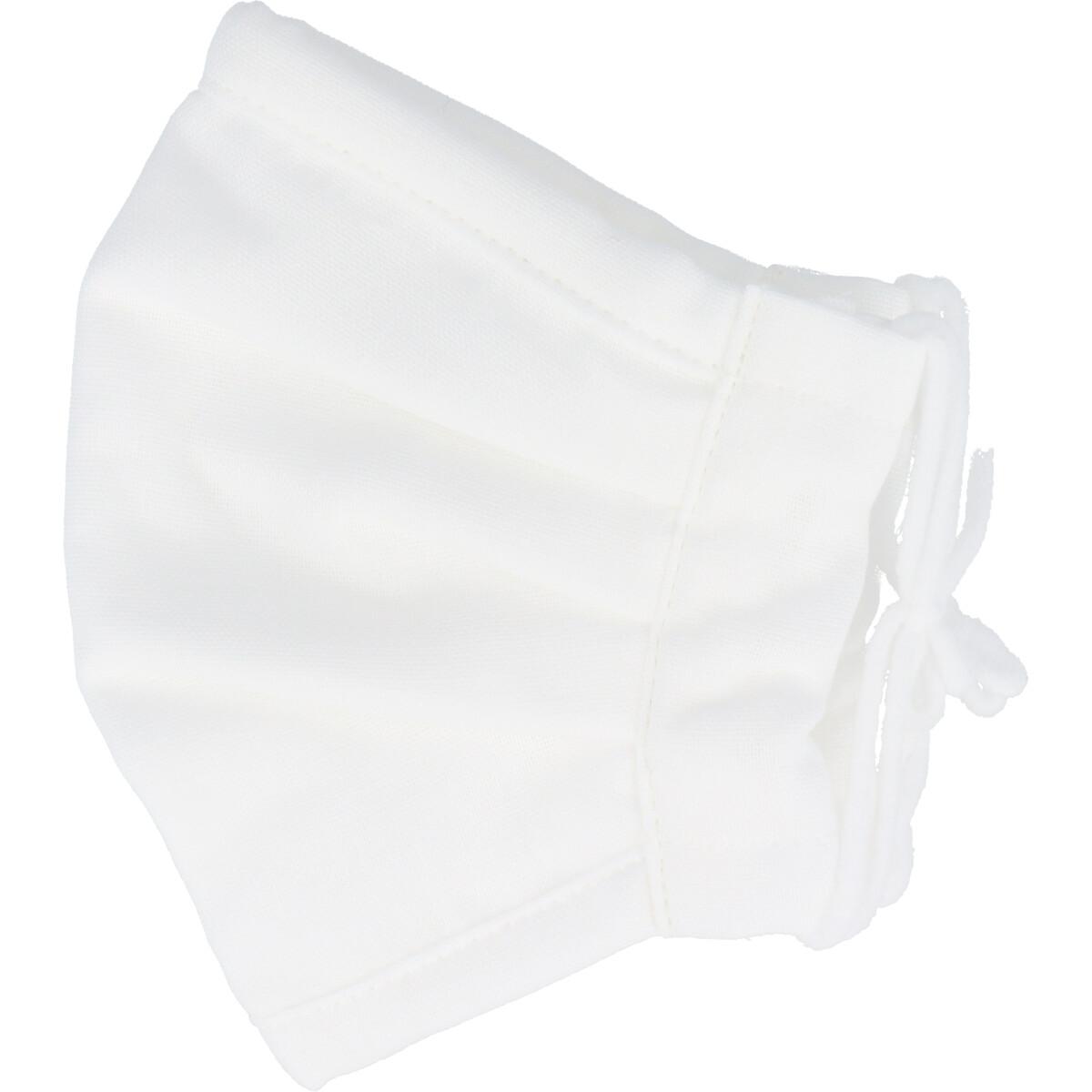 さらふわマスクダイヤドビー 敏感肌用 ホワイト ふつうサイズ 1枚入