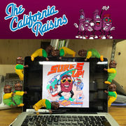【夏の激レア果実】【ビンテージデッドストック】カリフォルニア・レーズン クリップ 1セット12個入り