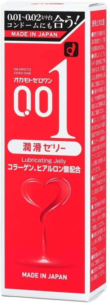 オカモト ゼロワン(0.01)潤滑ゼリー 美容・健康 森川産業 株式会社 ...