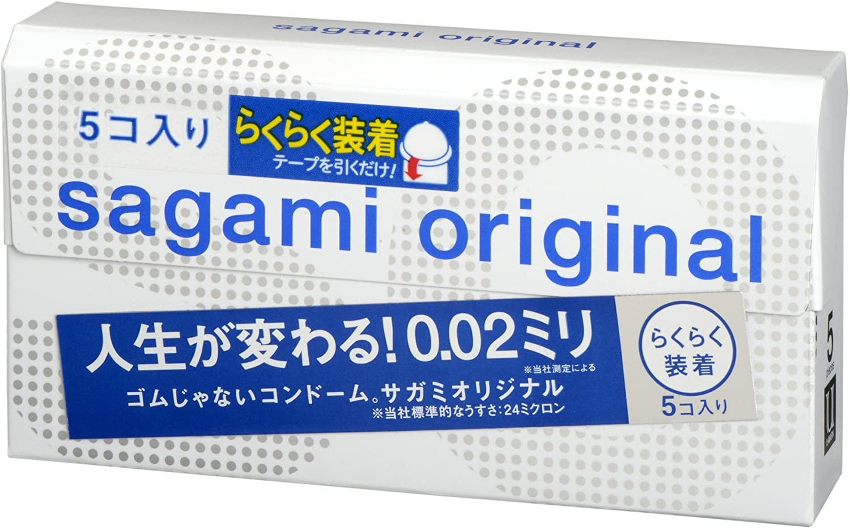 相模ゴム工業 サガミオリジナル002 クイック(5個入)