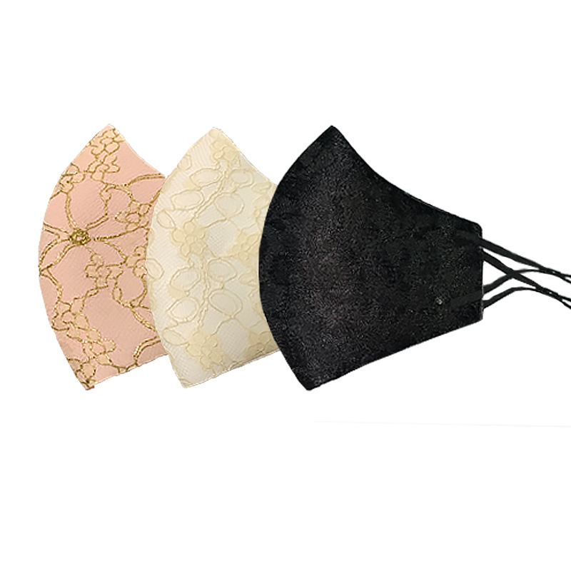 マスク レースマスク 立体マスク 3Dマスク 呼吸がしやすい 飛沫防止 花粉 ほこり ガード