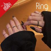 BLHW165502◆5000以上【送料無料】◆リング◆指輪 ユニークなリングセット パンクスタイル