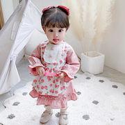 プリンセス メイドワンピース 女の子 ファッション スカート 人気商品 夏 韓国子供服 2020新作
