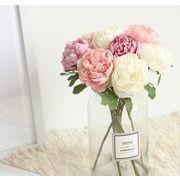 お祝い 結婚式 パーティー 花  造花 手作り 花束 フラワー インテリア 記念日 母の日 誕生日 バラ