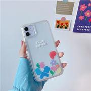 スマホケース 花柄 アイフォンケース 動く iPhoneXR カバー