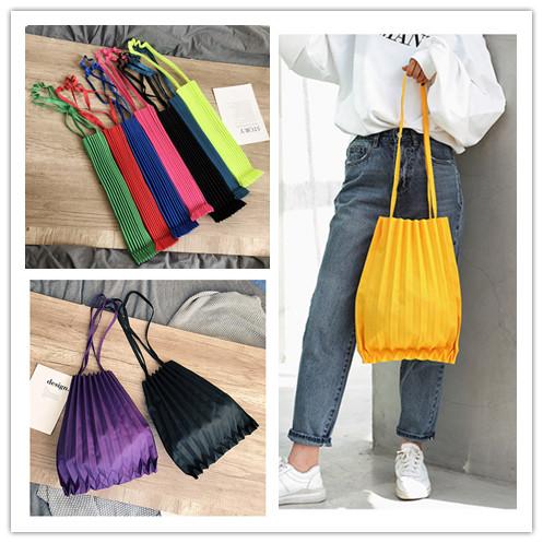 大人気 エコバッグ ショッピングバッグ 折りたたみバッグ プリーツバッグ レジ袋 旅行出張用 ファッション