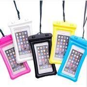 防水ケース 旅行 野営 携帯電話防水袋 PVCケース スマートフォンケース エアバッグ 卸大歓迎!