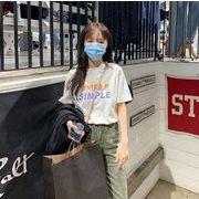 2020新作 トップス Tシャツ レーディス 夏 SAMPLE オーバーサイズ シンプル コットン
