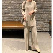 【お時間限定SALE】韓国ファッション 2点セット オシャレ セット 怠惰な風 ゆったりする 2020秋 気質