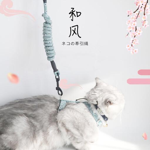 新作 ペット用品 ロープ 牽引紐 散歩 猫