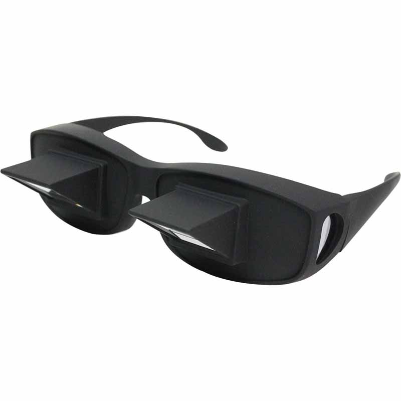 寝ながらテレビや読書が楽しめる!怠け者専用メガネ LAZY GLASSES SA-2158