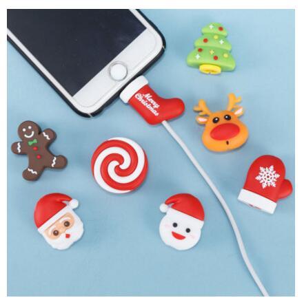 ケーブルバイト CABLE BITE カバー スマートフォン アクセサリー 断線防止 保護 クリスマス
