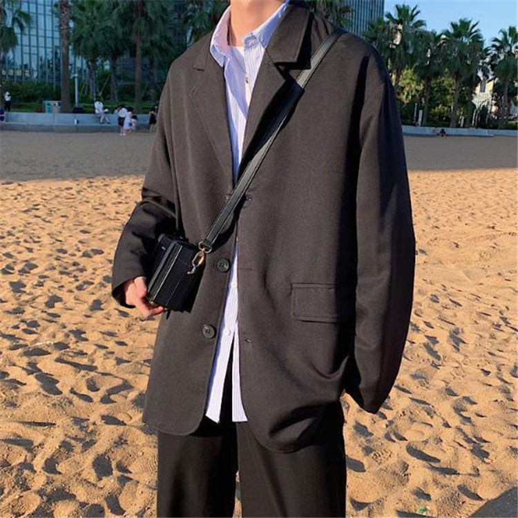 満足度99% INSスタイル スーツ コート 春秋 韓国ファッション ゆったりする レトロ カジュアル 快適である
