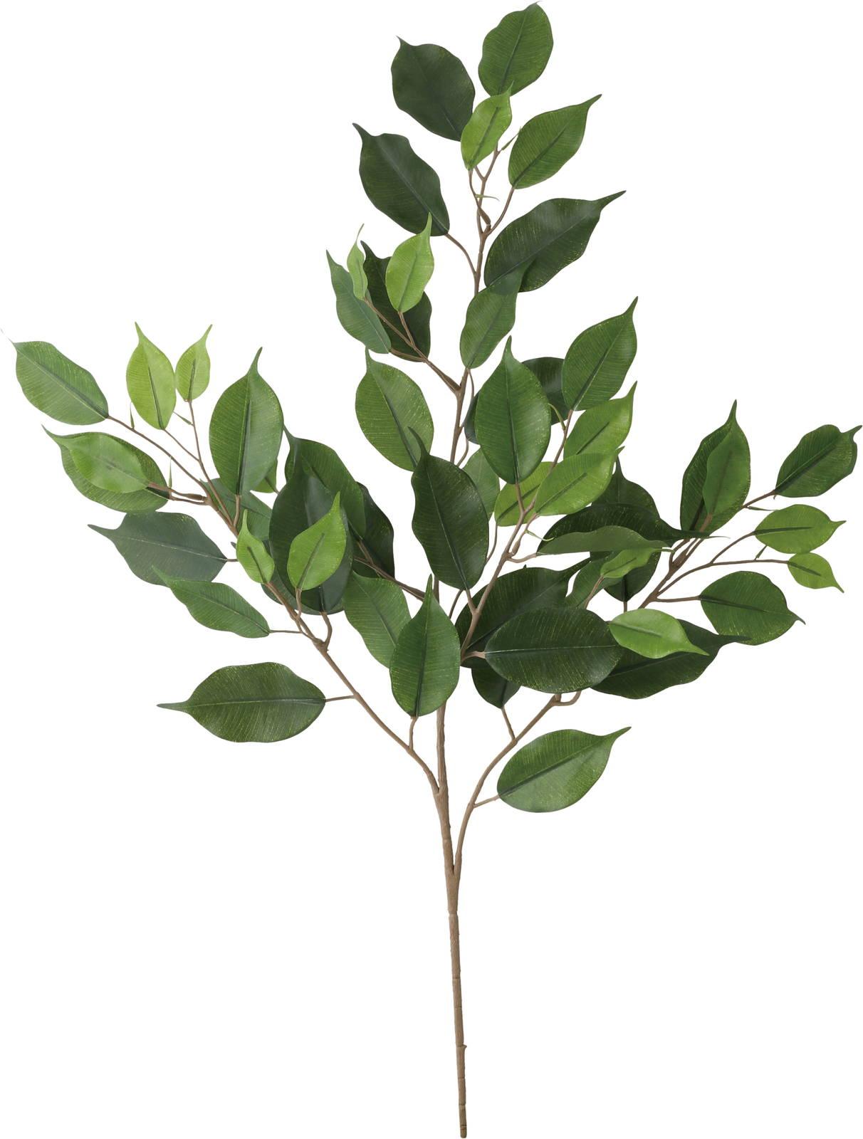 【造花】【インテリアグリーン】ベンジャミンリーフスプレー