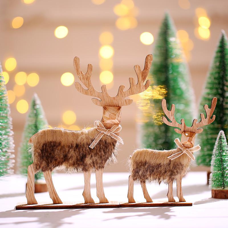 Christmas限定 トナカイ おもちゃ 玩具 マスコット クリスマス飾り 卓上 ショーウインドー 店舗