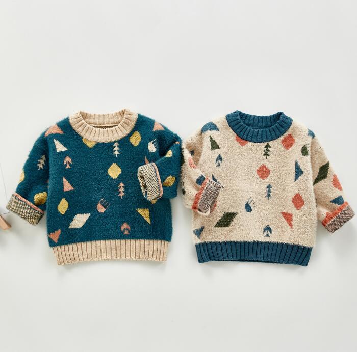 子供セーター 秋冬 66-100 女の子 可愛い 子供服 トップス ニット