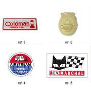 レーシング ステッカー COLEMAN AIRSTREAM MARCHAL コールマン エアストリーム マーシャル 耐水性加工