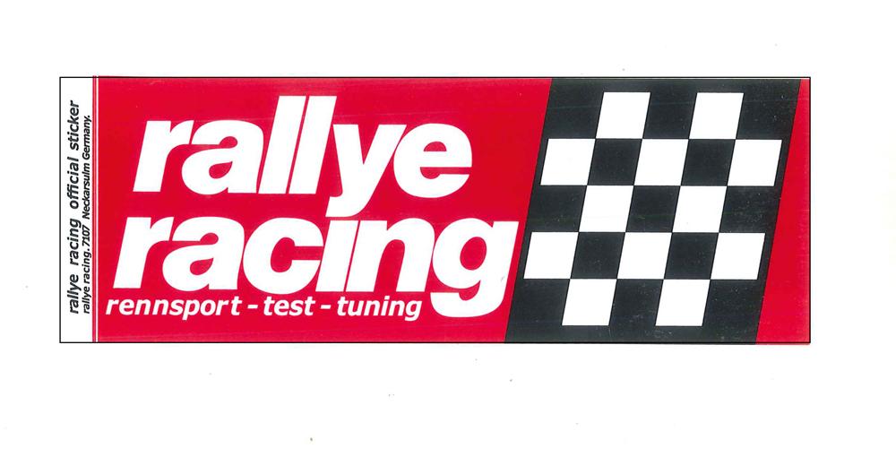 レーシング ステッカー RALLYE RACING ラリーレーシング 全138種類 耐水性加工 アメリカン雑貨