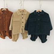 m16318ジャケット パンツ セットアップ 上下2点長袖 キッズ  ファッション  秋冬新作  SALE韓国子供服