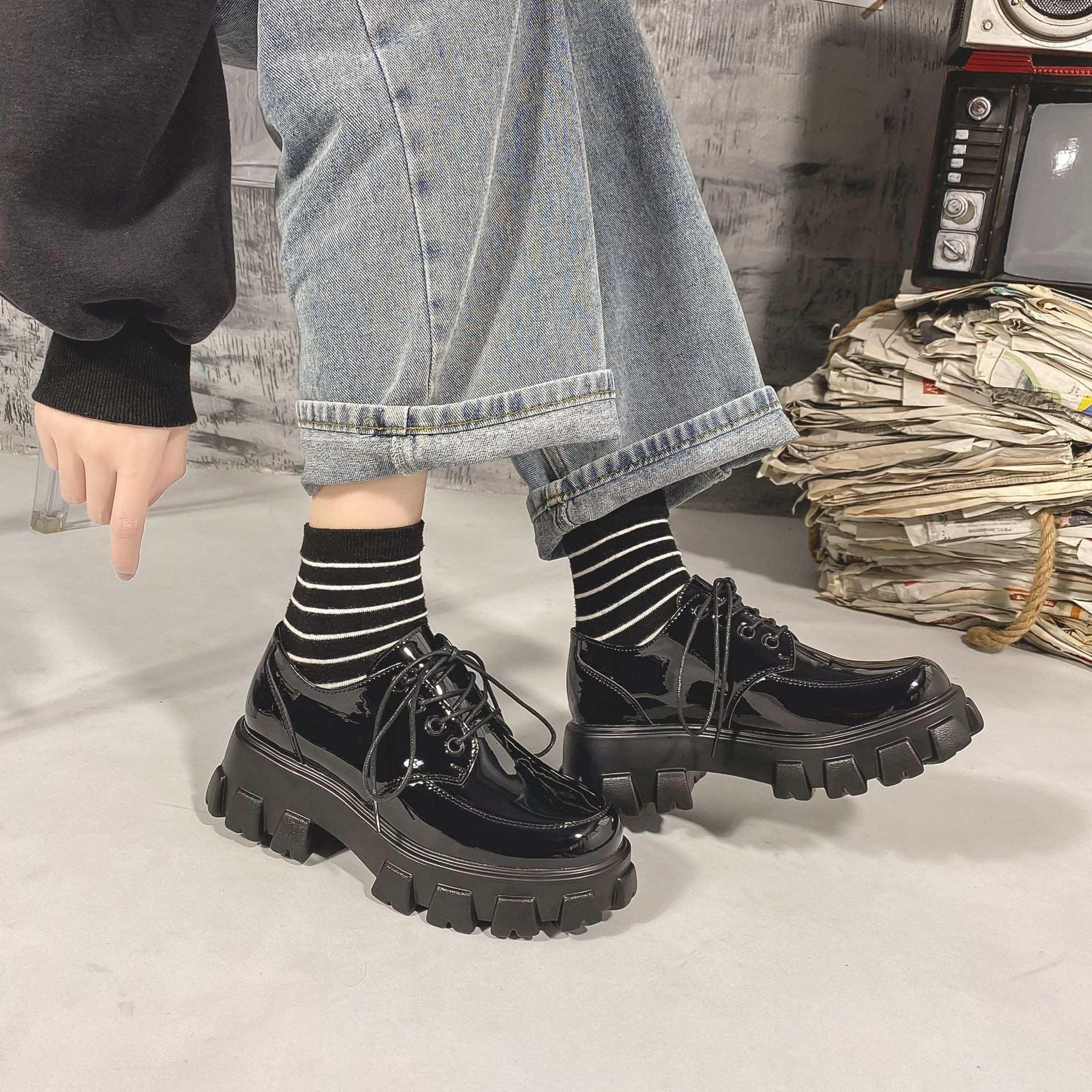 話題の注目アイテム 秋冬 新作 厚底 レディースシューズ シューズ 靴 高級品質 限定SALE