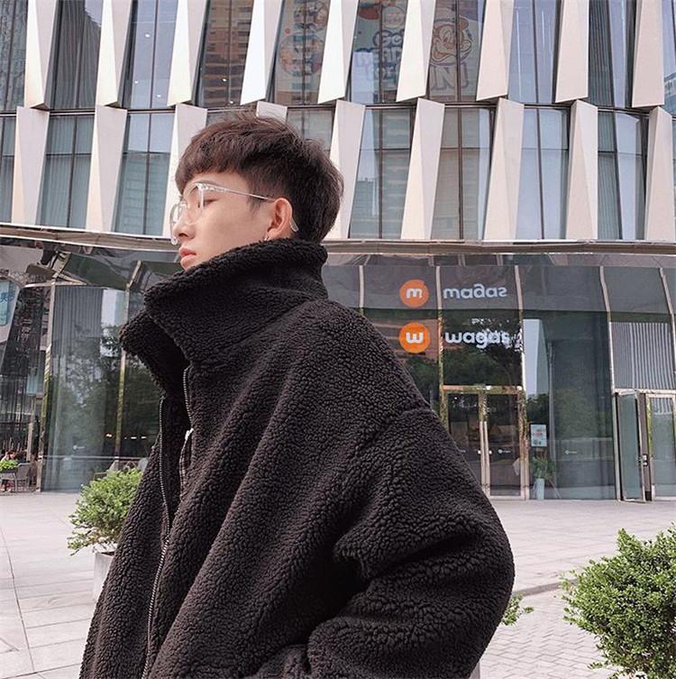 売れ筋カラー追加!韓国ファッション ラムウールコート コットンジャケット ラムウール ジャケット