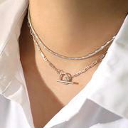 シルバー925 18金 gold silver silvernecklace シルバーネックレス チョーカー ◆メール便対応可◆