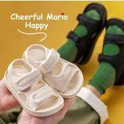 【子供靴】夏サンダル サンダル 男女兼用 可愛いデザイン ベビー シューズ ベルクロ キッズ靴