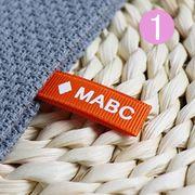 布タグOEM ロゴ入り可 弊社のアパレル商品をご購入頂く場合はタグの付け替え可