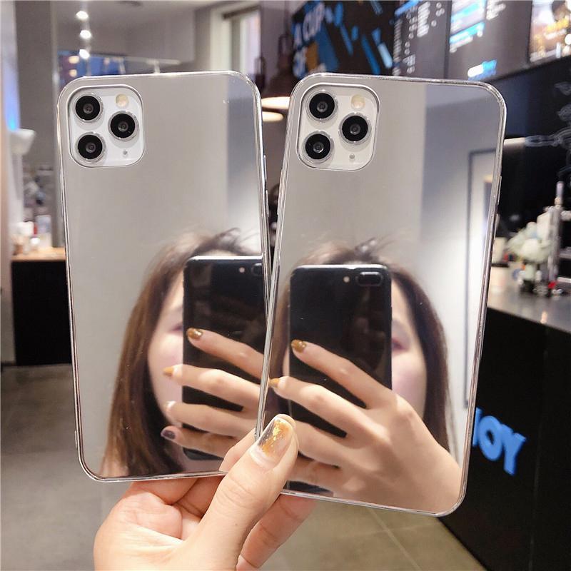 iPhone SE 第2世代 ミラーiPhone ケース iPhone 11 カバー 鏡
