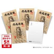 【5枚セット】 アマビエ ポストカード 06 妖怪 疫病退散 コロナウィルス対策 イラスト GSJ286 gs