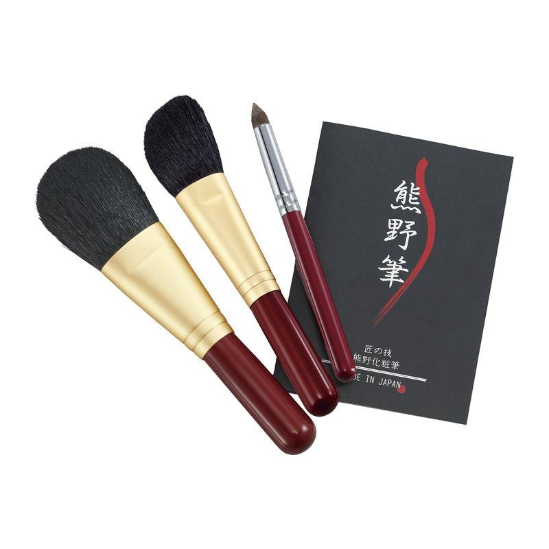 熊野化粧筆 セット 筆の心 KFi-R80FHE