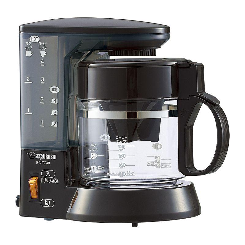象印 コーヒーメーカー EC-TC40-TA