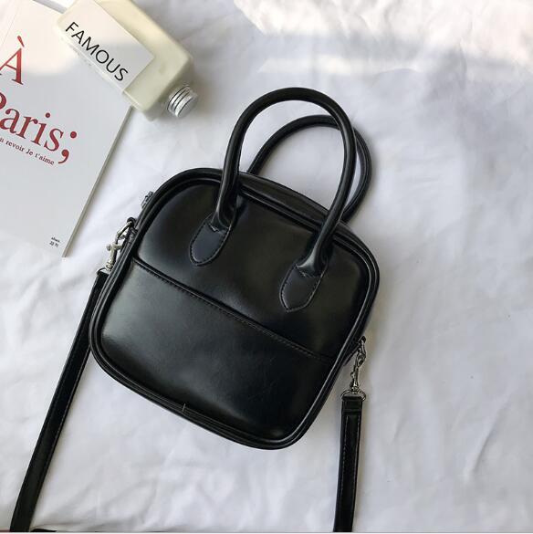 レディース 鞄 フェイクレザー ショルダーバッグ 斜めがけバッグ 2色