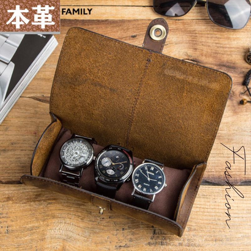 【BAG】本革腕時計入れ コンパクト