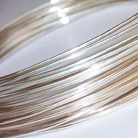 SV925/AG925 ラウンドワイヤー 銀線 丸線 0.3、0.4、0.5、0.6、0.7、0.8、0.9、1mm
