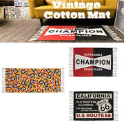 【Champion Spark Plug】【Cotton Mat】 チャンピオン R66 コットンマット アメリカンスタイル ガレージ