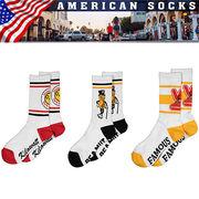 【Advertising Socks】【Reddy Kilowatt】レディキロ Mr.Peanut ソックス 靴下