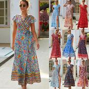 きれいめ派のスタッフが選ぶ レディースファッション 春夏 Vネック シンプル ワンピース スカート