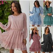 シンプルだから素材に拘る レディースファッション 春夏 人気商品 シンプル ワンピース スカート