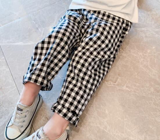 子供服 パンツ ズボン キッズ 子ども かわいい チェック カジュアル トレンド 人気