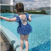2021新作 水着 子供 女の子 夏 子供服 キッズ 女児 ベビー水着 おしゃれ 韓国子供服 ワンピース