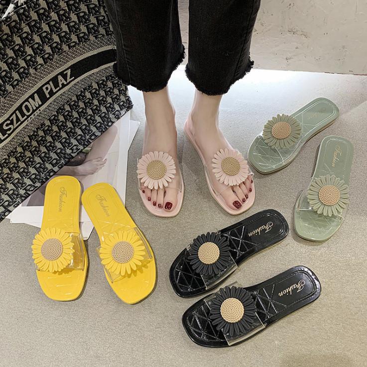 スリッパ 夏  ぺたんこ スリッパ 韓国スタイル シューズ 靴 人気アイテム レディース