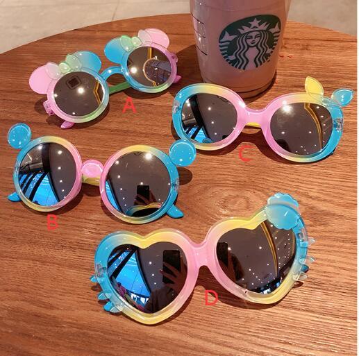 メガネ 眼鏡 サングラス キッズ 子ども  女の子 男の子 アニメ  UVカット トレンド