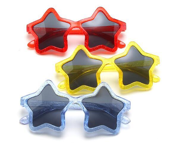 メガネ 眼鏡 サングラス キッズ 子ども 個性 五角星 シンプル トレンド おしゃれ 人気