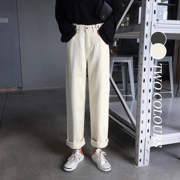 【Women】2021年春夏新作 韓国風レディース服 無地 パンツ ボトムス ファッション
