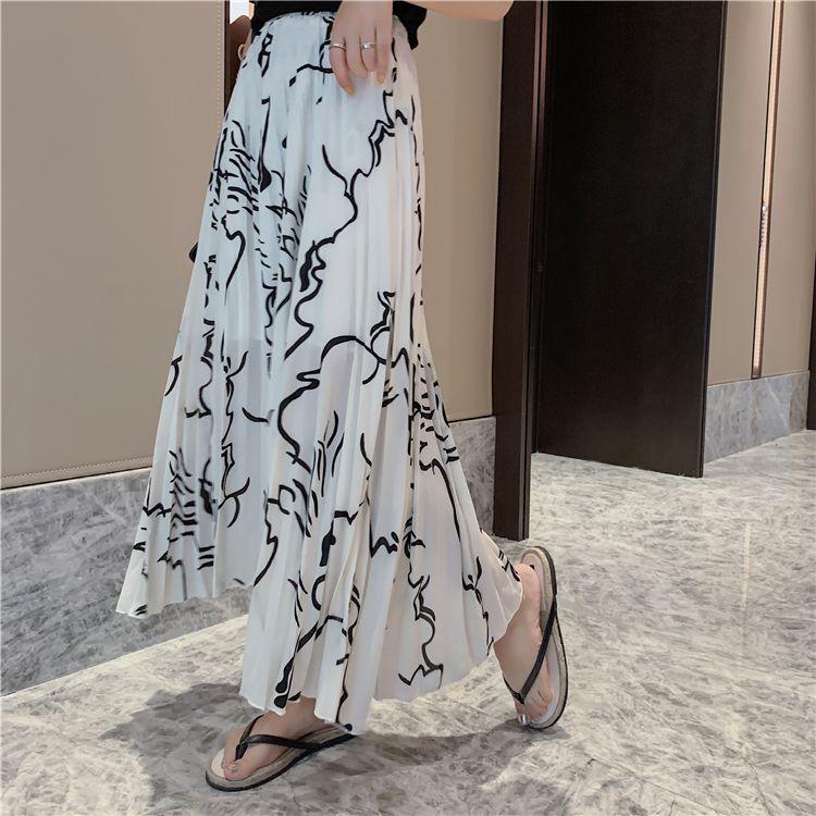 2021新作 レディースファッション ボトムス スカート ロング フレア 韓国風SW62113Y