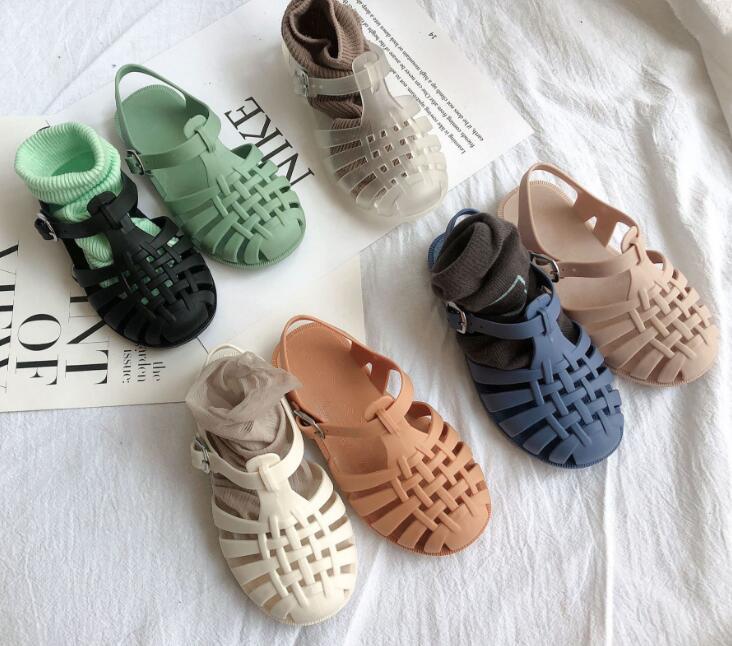 ★可愛い児童靴★韓国風★サンダル★5色 内長14-17cm★靴
